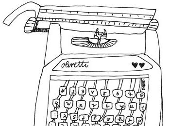 typewriter a